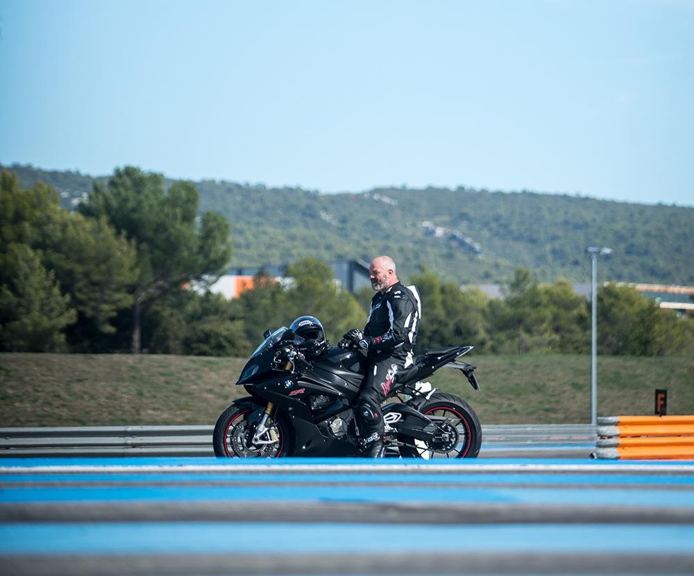 Philippe Etchebest moto