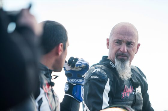 Vincent Lagaf' : motard depuis toujours