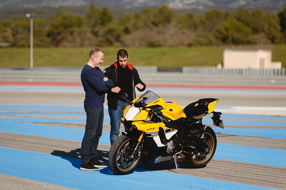 pascal le grand frère Yamaha R1