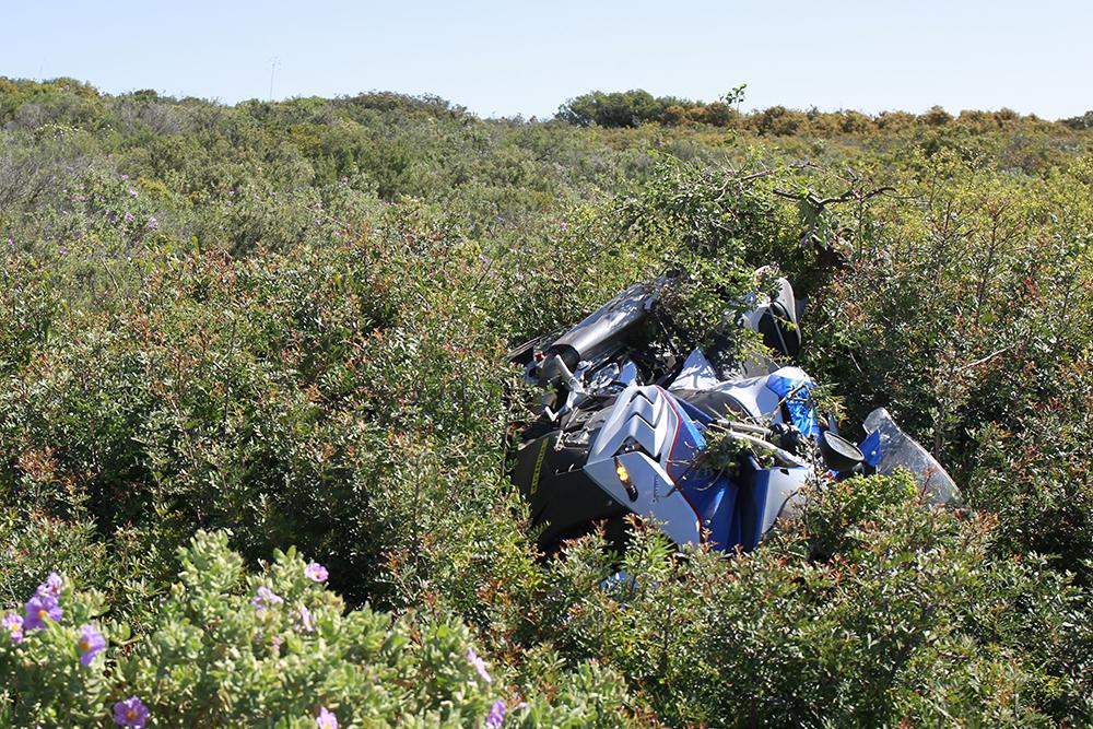 Crash BMW S1000RR