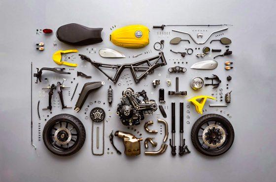 Combien coûterait une moto si on l'achetait en pièces ?