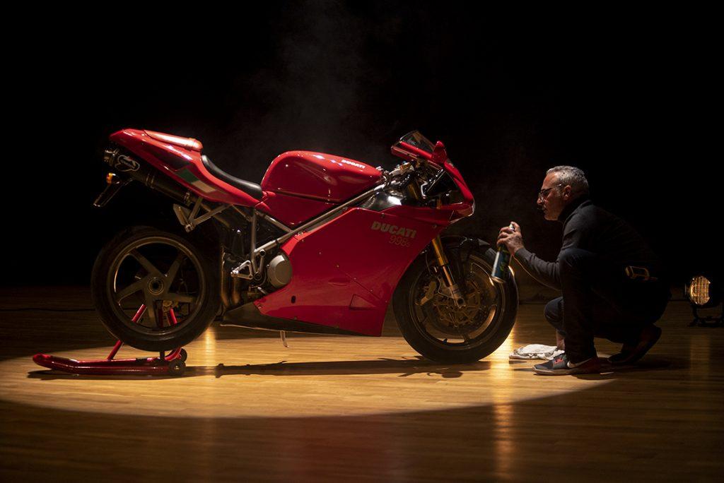 Ducati 998 S profil