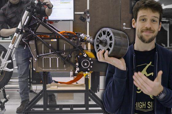 Comment est fabriquée une moto électrique ?