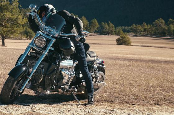 Boss Hoss : une moto démesurée