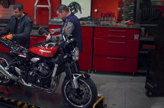 Z900RS High Side : Démontage