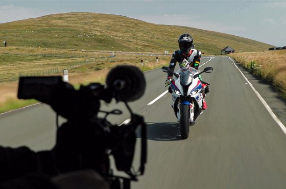 Making-of : la BMW S 1000 RR à l'Île de Man