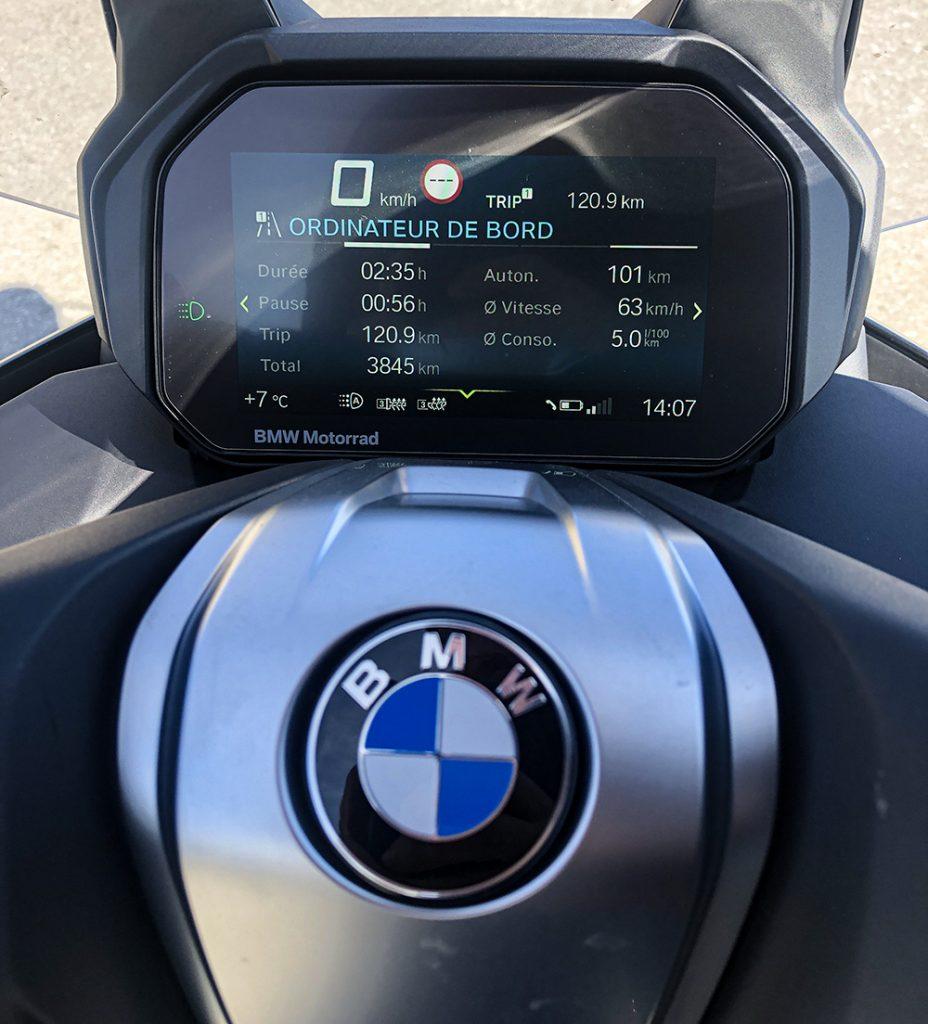 BMW C 400 GT trip