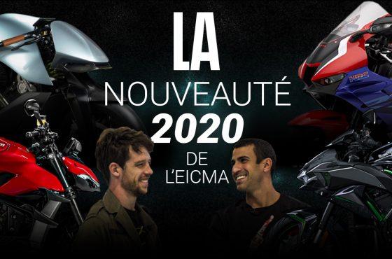 À la recherche de la nouveauté moto 2020