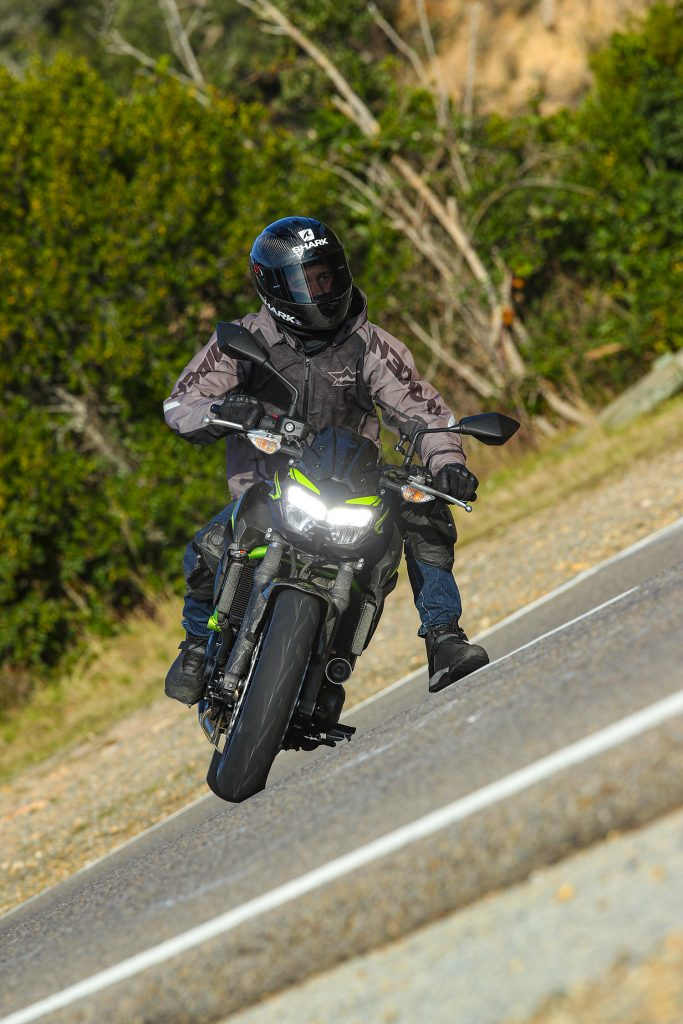 Kawasaki Z650 partie-cycle