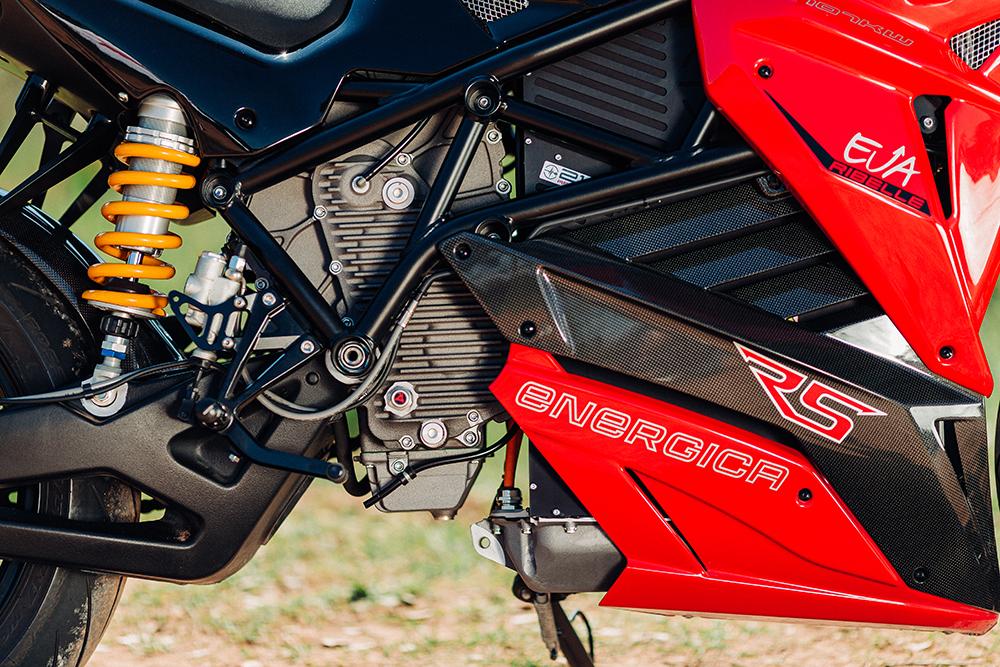 Energica EVA Ribelle RS moteur